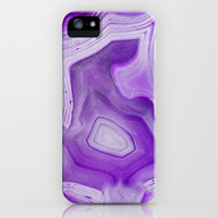 MINERAL BAUTY LILAC iPhone & iPod Case by Catspaws