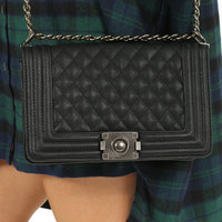 Date Night Purse: Black         - One