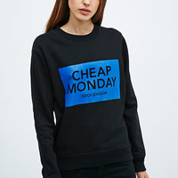 Cheap Monday Ellie Sweatshirt in Black - Urban Outfitters