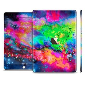 The Neon Splatter Universe Sectioned Skin Set for the Apple iPad Air 2