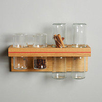 Suspended Spice Rack
