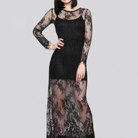 Coven Lace Maxi Dress