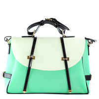 Mint Candy Color Foldover Jelly Bag - Goods - Retro, Indie and Unique Fashion