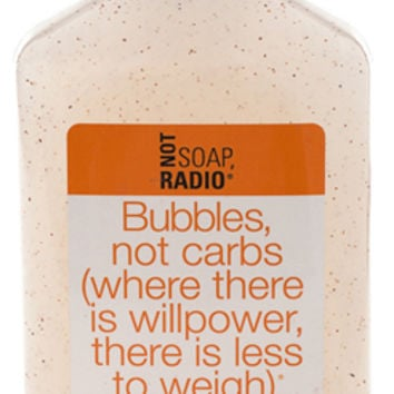 Bubbles, not carbs - Not Soap Radio