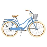"Huffy Deluxe 26"" Ladies' Cruiser Bike with Basket and Beverage Holder"