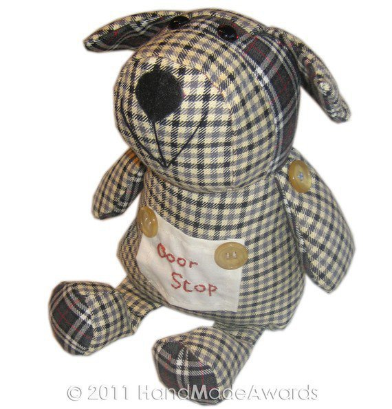 Door Stop Puppy Dog Pdf Email Fabric From Handmadeawards