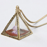 The Wasteland Pyramid Charm Necklace