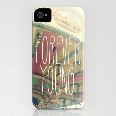 F∞REVER iPhone Case by Valerie Bee | Society6