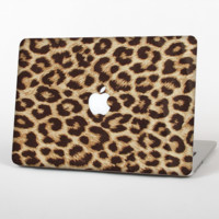 """The Simple Vector Cheetah Print Skin Set for the Apple MacBook Pro 15"""""""