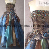 New Style Colorful Wedding Dress (P-242) - China wedding dress,wedding gown,bradal dress in Wedding Dress & Ceremonial Clothing