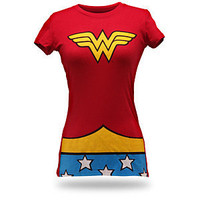 Wonder Woman Costume Babydoll
