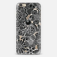 welcome balck bird iPhone 6 case by Julia Grifol. Surface and textile designer.   Casetify