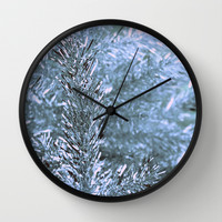 silver tree Wall Clock by Agnessa Lifits