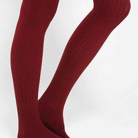 Opaque Cable Tight- Maroon S/M