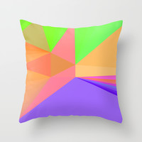 Pattern Throw Pillow by Unspalsh