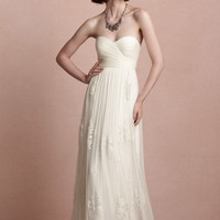 Romantic Luella Gown Cheap Designer Wedding Dress - Basadress.com