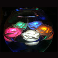 Christmas Gifts - LED Multi Colored Floating Roses