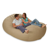 7 foot bean bag couch!
