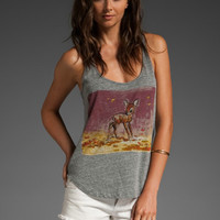 Disney by PATTERSON J. KINCAID Patch Bambi Willow Tank in Heather Grey at Revolve Clothing - Free Shipping!