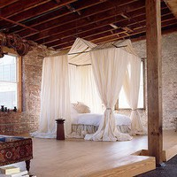 Loft bedroom 