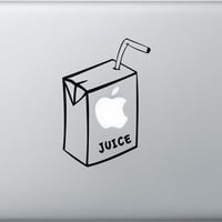 Apple Juice decal for Apple Macbook Pro Air by allBLACKandWHITE