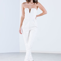 My Sweetheart Faux Leather Jumpsuit