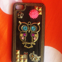 Owl New Hard Fitted Case For Iphone.. on Luulla