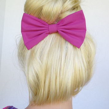 Orchid Hair Bow Clip Orchid Bow clip orchid hair clip Fabric Bow fabric Clip for kids hair bows for women hairbow accessories ladies cosplay