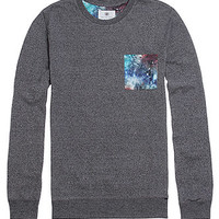 On The Byas Multi Mock Cosmic Pocket Crew Shirt at PacSun.com