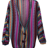 Bohemian Style Batwing Coat [NCSOD0106] - $47.50 :