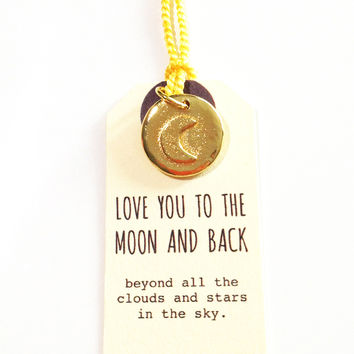 Golden Moon and Back Charm  Golden Moon and Back Charm