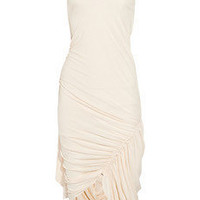 Alexander Wang | Matte-jersey draped tank dress | NET-A-PORTER.COM
