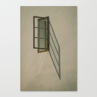 Window Canvas Print by Tomas Hudolin