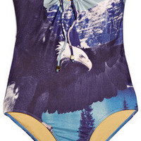 We Are Handsome | The Yosemite bandeau swimsuit | NET-A-PORTER.COM