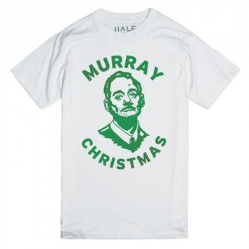 White T-Shirt | Funny Bill Murray Christmas Shirts