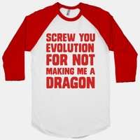 SCREW YOU EVOLUTION FOR NOT MAKING ME A DRAGON