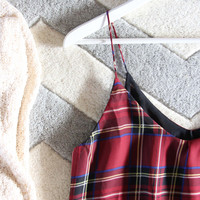 The Ski Lodge Plaid Top