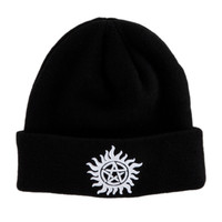 Supernatural Anti-Possession Symbol Watchman Beanie