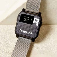Reebok Silver Vintage Nerd Watch- Silver One