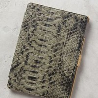 Serpentes Embossed iPad Air Case by Liebeskind Grey One Size Tech Essentials