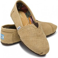 TOMS Natural Burlap Classics for Women