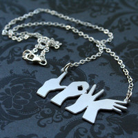 Love Hands Necklace