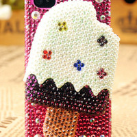Gullei Trustmart : iPhone4 3GS Icecream Birthday Gift Case for Her [GTMSP0033] - $73.00 - Couple Gifts, Cool USB Drives, Stylish iPad/iPod/iPhone Cases & Home Decor Ideas
