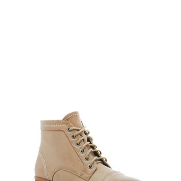 Lace-Up Ankle Booties - Rainbow