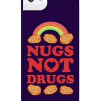 NUGS NOT DRUGS IPHONE CASE