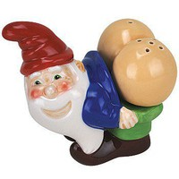 The Mooning Gnome Salt & Pepper Shaker Set - Whimsical & Unique Gift Ideas for the Coolest Gift Givers