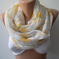 Infinity Scarf Loop Scarf Circle Scarf - Elegant - It made with good quality chiffon fabric - Super Loop