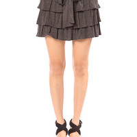 Papaya Clothing Online :: RIBON TRIM TIERED SKIRT
