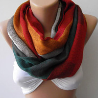 ON SALE  Infinity Scarf Loop Scarf Circle Scarf.....Pashmina