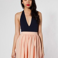 American Apparel Piqu&amp;eacute; Full Woven Skirt